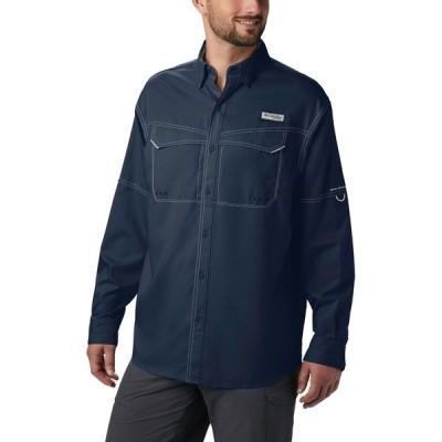 コロンビア シャツ トップス メンズ Columbia Sportswear Men's Low Drag Offshore Long Sleeve Shirt Blue/Navy