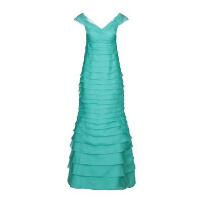 ATELIER NICOLA D'ERRICO ロングワンピース&ドレス ターコイズブルー 42 シルク 100% ロングワンピース&ドレス