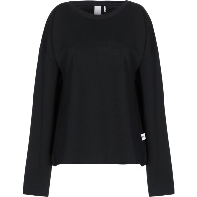 NOUMENO CONCEPT スウェットシャツ ブラック S コットン 100% スウェットシャツ
