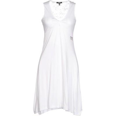 シーエヌシー コスチューム ナショナル C'N'C' COSTUME NATIONAL ミニワンピース&ドレス ホワイト 44 レーヨン 100%