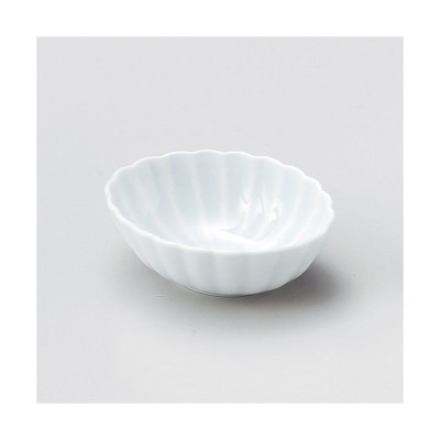 かすみ青白11.5楕円小鉢 ユ072-117