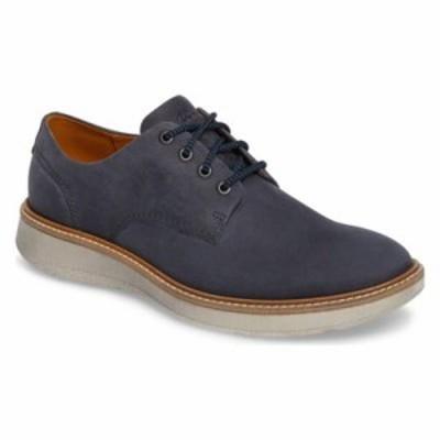 エコー 革靴・ビジネスシューズ Aurora Plain Toe Derby Marine Leather