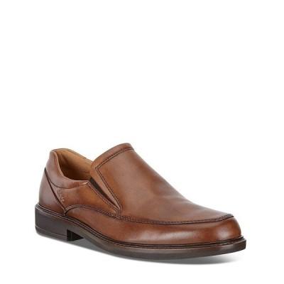 エコー メンズ ドレスシューズ シューズ Men's Holton Apron-Toe Slip-On Shoes Amber