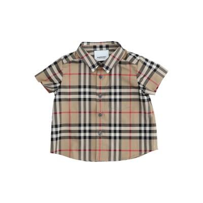 BURBERRY シャツ ベージュ 6 コットン 100% シャツ