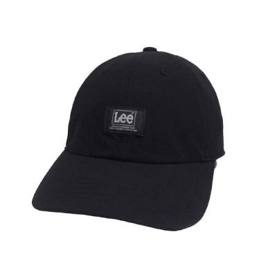 Lee リー LE DO CAP RIPSTOP 105-176004 BLACK キャップ メンズ レディース 男女兼用