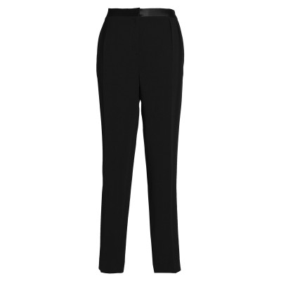 VIONNET パンツ ブラック 44 レーヨン 96% / ポリウレタン 4% / シルク パンツ