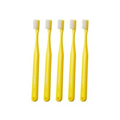 タフト24 歯ブラシ MSキャップなし 25本入 イエロー