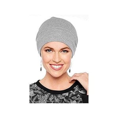 Headcovers Unlimited Cotton Relaxed Beanie-Caps for Women with Chemo Cancer