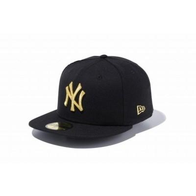 ニューエラ(NEW ERA) 59FIFTY ニューヨーク・ヤンキース ブラック/ゴールド 12336663
