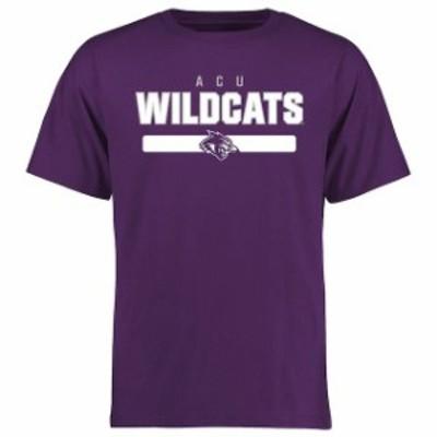 Fanatics Branded ファナティクス ブランド スポーツ用品  Abilene Christian University Wildcats Purple Team Strong T-Shirt