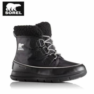 ソレル SOREL スノーブーツ 冬靴 レディース Sorel Explorer Carnival ソレルエクスプローラーカーニバル NL3040 010 run