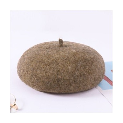 (BACKYARD/バックヤード)ウールベレー帽 blm017/レディース ブラウン