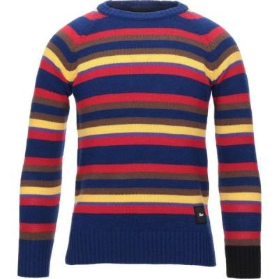 シューシャイン SHOESHINE メンズ ニット・セーター トップス sweater Blue