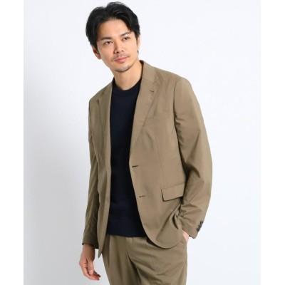 (TAKEO KIKUCHI/タケオキクチ)【Sサイズ~】軽量ストレッチジャケット/メンズ タバコブラウン(054)