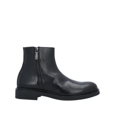 MICHEL SIMON ショートブーツ  メンズファッション  メンズシューズ、紳士靴  ブーツ  その他ブーツ ブラック