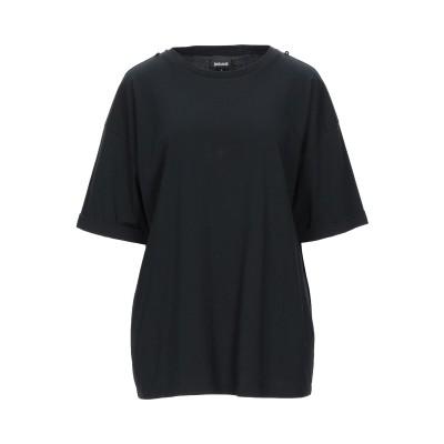 ジャストカヴァリ JUST CAVALLI T シャツ ブラック L コットン 100% T シャツ