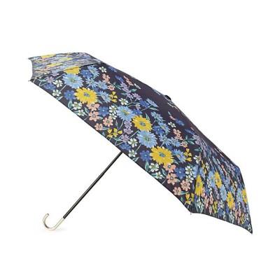 <GROVE(Women)/グローブ> because フラワーブルーム折りたたみ傘(晴雨兼用) アオ893【三越伊勢丹/公式】