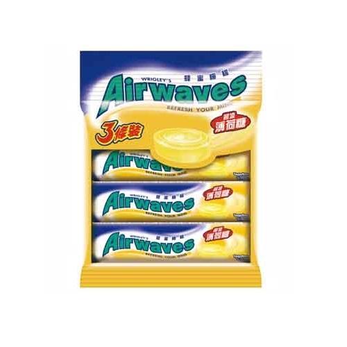 Airwaves薄荷糖-蜂蜜檸檬3入裝