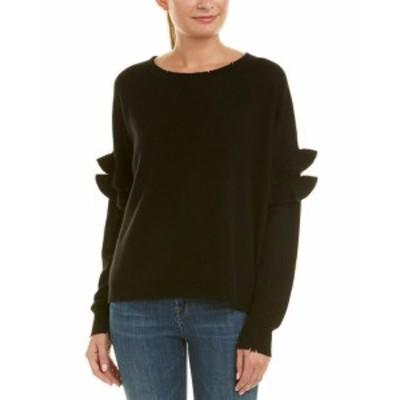 Ruffle  ファッション トップス Current/Elliott The Ruffle Wool & Cashmere-Blend Sweater