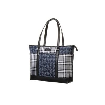 ネイビー系 トートバッグ【VANNERS】【豊岡鞄】トートバッグ HILTON
