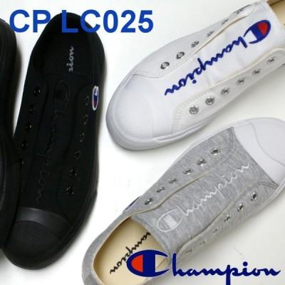 チャンピオン Champion レディース スニーカー CP LC025 CENTER COURT SLIPOX グレー・ホワイト・ブラック