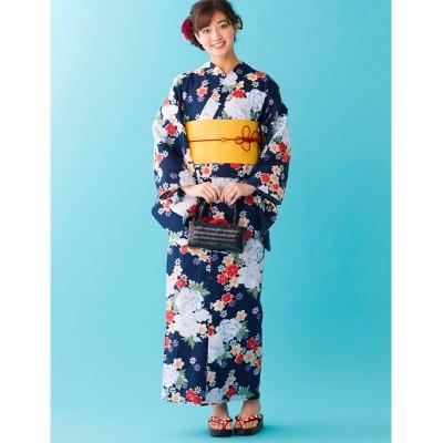 1人で簡単に着られる2部式浴衣 【レディース浴衣】, plus size yukata