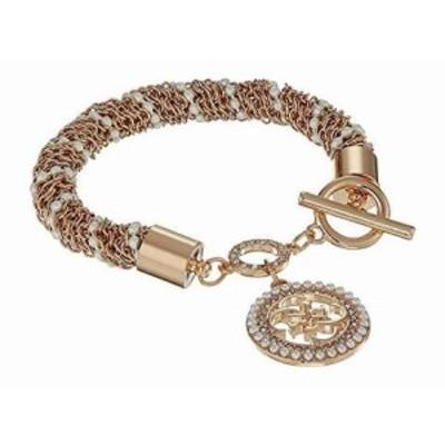 ゲス レディースアクセサリ ブレスレット バングル Toggle Line Bracelet w/ Stones