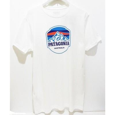 パタゴニア patagonia【オーストラリア限定】Tシャツ・半袖・Powder Peaks Lw Cotton Australia・White
