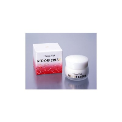 大感謝価格トミーリッチ レッドオフクリーム 30g美容 コスメ 化粧 ビタミンK 植物成分 トミーリッチ レッドオフクリームは代引