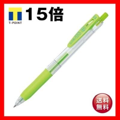 (まとめ) ゼブラ ゲルインクボールペン サラサクリップ 0.4mm ライトグリーン JJS15-LG 1本 〔×60セット〕
