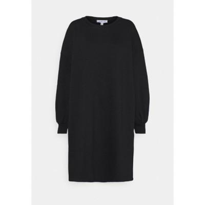 ヌー イン ワンピース レディース トップス PUFF SLEEVE DRESS - Day dress - black