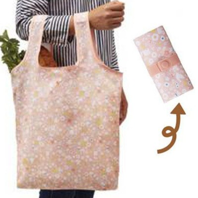 エコバッグ ショッピングバッグ アニマルガーデン 折りたたみ コンパクト収納 ( トートバッグ 買い物バッグ 買い物袋 )
