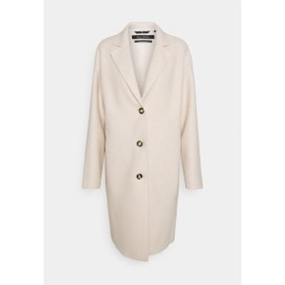 マルコポーロ レディース コート アウター SINGLE BREASTED - Classic coat - natural white natural white