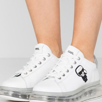 レディース 靴 シューズ KAPRI KUSHION IKONIC LACE - Trainers - white/silver