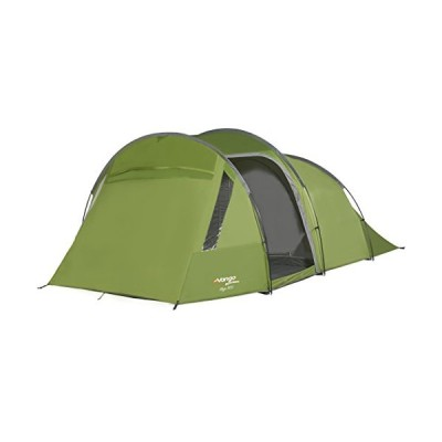 Vango Skye 500 5 Man Tent, Family Tent with Large PVC Windows and Lights Out Bedrooms, Treetops 並行輸入品
