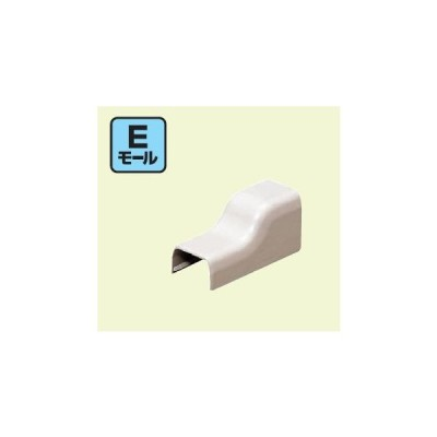 未来工業 EMC-1K Eモール付属品 コーナージョイント 1号 ブラック 10個入 [代引き不可]