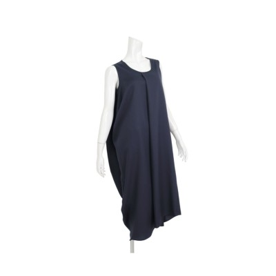 MARTHA(マーサ)バックドレープロングワンピース (ワンピース)Dress