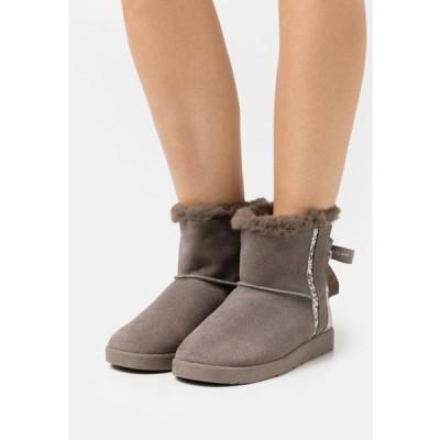 リバーアイランド レディース 靴 シューズ Classic ankle boots - grey