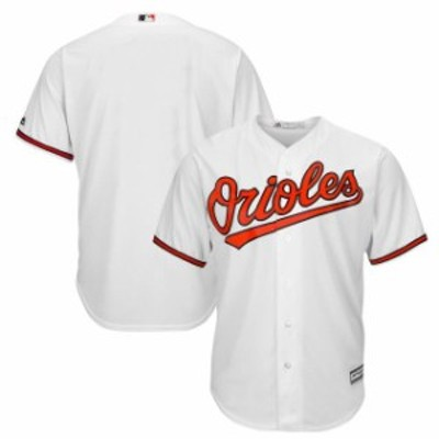 Majestic マジェスティック スポーツ用品  Majestic Baltimore Orioles Youth White Official Cool Base Jersey