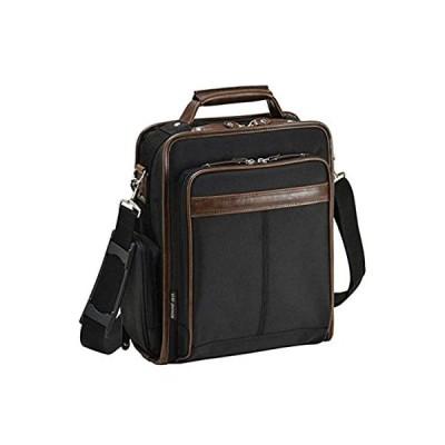 大容量 縦型 ショルダーバッグ 2WAY ビジネスバッグ A4ファイル対応 メンズ 機能性 自立 バッグ