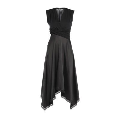アレキサンダーワン ALEXANDER WANG 7分丈ワンピース・ドレス ブラック 6 レーヨン 100% / レーヨン / コットン / ナイロ