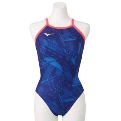 競泳練習用エクサースーツ ミディアムカット レディース MIZUNO ミズノ スイム 競泳水着 エクサースーツ (N2MA0771)