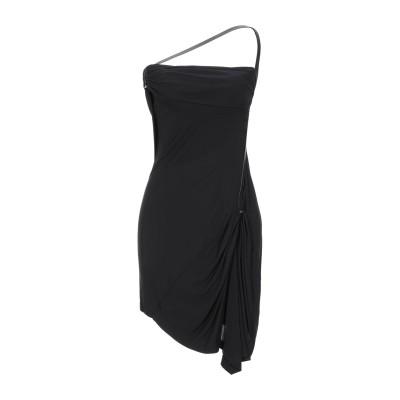 ディースクエアード DSQUARED2 ミニワンピース&ドレス ブラック XS レーヨン 100% ミニワンピース&ドレス