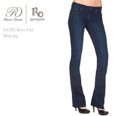 【SALE】 Raven Denim レーペンデニム SADIE Boot Cut Blue Jay ブーツカット