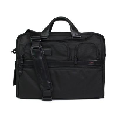 トゥミ TUMI ビジネスバッグ ブリーフケース ショルダー メンズ ALPHA2 BUSINESS ブラック 黒 026114D2