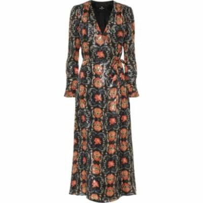 エトロ Etro レディース ワンピース ミドル丈 ワンピース・ドレス Printed Silk-Blend Crepe Midi Dress Multi