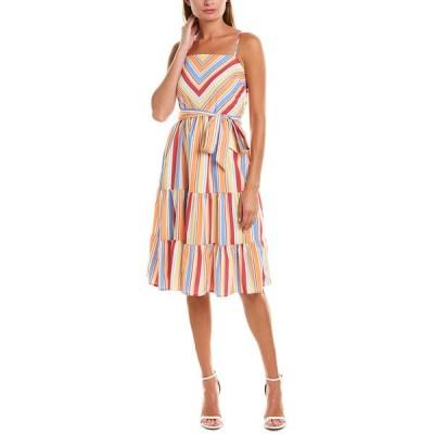 ビューラ ワンピース トップス レディース Beulah Striped Sundress multicolor stripe