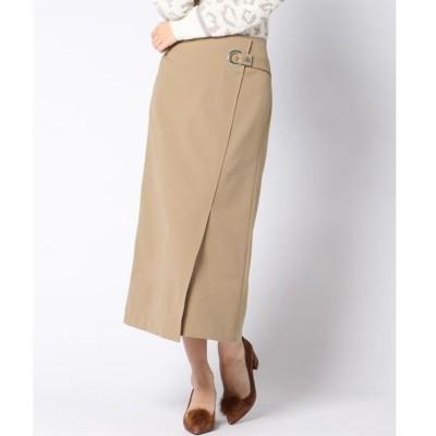 VICKY / ビッキー 【洗える】ストレッチラップロングスカート