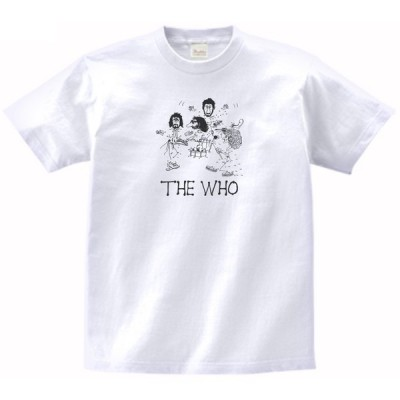 THE WHO 音楽・ロック・シネマ Tシャツ