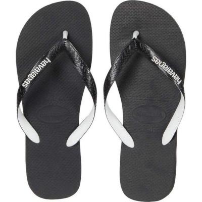 ハワイアナス Havaianas メンズ シューズ・靴 Top Mix Flip Flops Black/Black